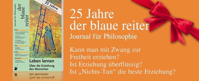 der blaue reiter– Journal für Philosophie